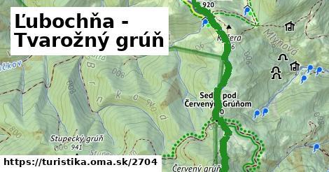 ilustračný obrázok k Ľubochňa - Tvarožný grúň