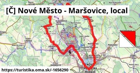 [Č] Nové Město - Maršovice, local