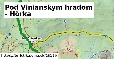 ilustračný obrázok k Pod Vinianskym hradom - Hôrka