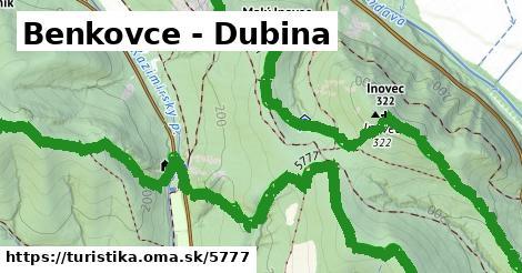 ilustračný obrázok k Benkovce - Dubina
