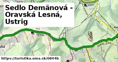 ilustračný obrázok k Sedlo Demänová - Oravská Lesná, Ustrig