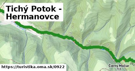ilustračný obrázok k Tichý Potok - Hermanovce