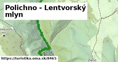ilustračný obrázok k Polichno - Lentvorský mlyn