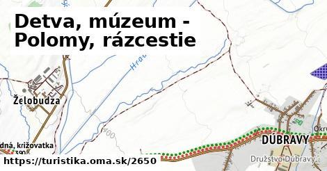 ilustračný obrázok k Detva, múzeum - Polomy, rázcestie