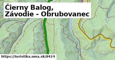 ilustračný obrázok k Čierny Balog, Závodie - Obrubovanec