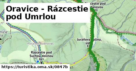ilustračný obrázok k Oravice - Rázcestie pod Umrlou