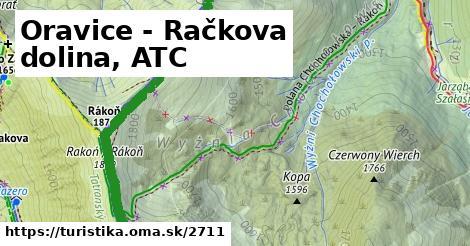 ilustračný obrázok k Oravice - Račkova dolina, ATC