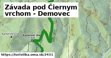 ilustračný obrázok k Závada pod Čiernym vrchom - Demovec