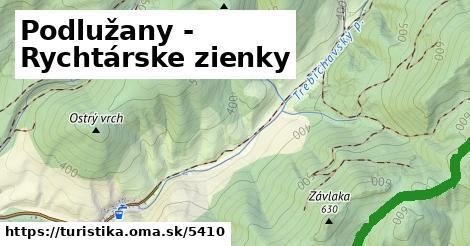 ilustračný obrázok k Podlužany - Rychtárske zienky