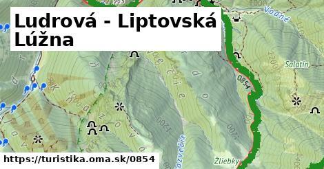 ilustračný obrázok k Ludrová - Liptovská Lúžna