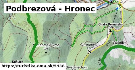 ilustračný obrázok k Podbrezová - Hronec