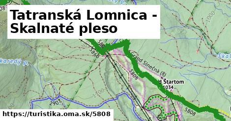 ilustračný obrázok k Tatranská Lomnica - Skalnaté pleso