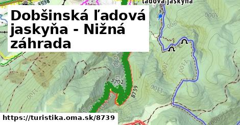 ilustračný obrázok k Dobšinská ľadová jaskyňa - Nižná záhrada