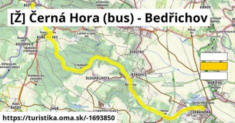 Černá Hora;Býkovice;Bedřichov