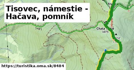 ilustračný obrázok k Tisovec, námestie - Hačava, pomník