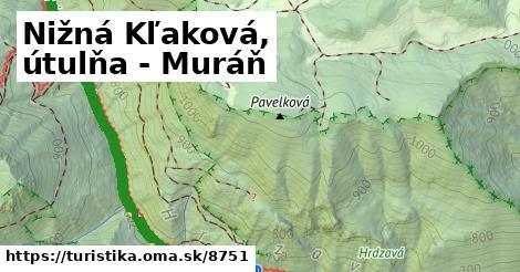 ilustračný obrázok k Nižná Kľaková, útulňa - Muráň