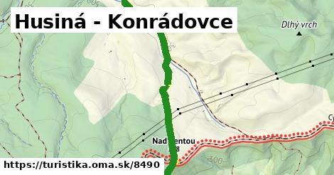 ilustračný obrázok k Husiná - Konrádovce