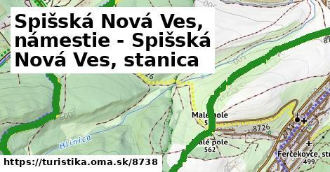 ilustračný obrázok k Spišská Nová Ves, námestie - Spišská Nová Ves, stanica