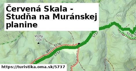ilustračný obrázok k Červená Skala - Studňa na Muránskej planine