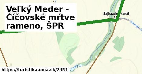 ilustračný obrázok k Veľký Meder - Číčovské mŕtve rameno, ŠPR