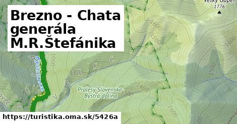 ilustračný obrázok k Brezno - Chata generála M.R.Štefánika