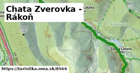 ilustračný obrázok k Chata Zverovka - Rákoň