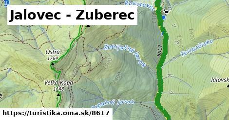 ilustračný obrázok k Jalovec - Zuberec
