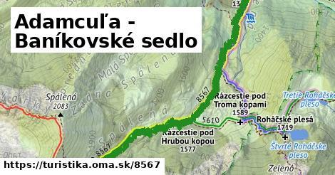ilustračný obrázok k Adamcuľa - Baníkovské sedlo