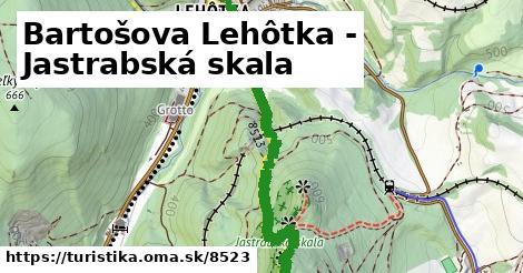 ilustračný obrázok k Bartošova Lehôtka - Jastrabská skala