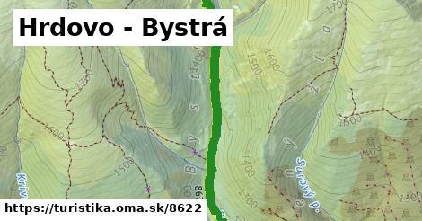 ilustračný obrázok k Hrdovo - Bystrá