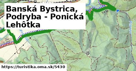 ilustračný obrázok k Banská Bystrica, Podryba - Ponická Lehôtka