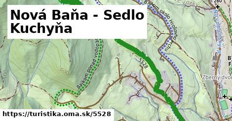ilustračný obrázok k Nová Baňa - Sedlo Kuchyňa