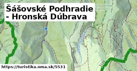 ilustračný obrázok k Šášovské Podhradie - Hronská Dúbrava
