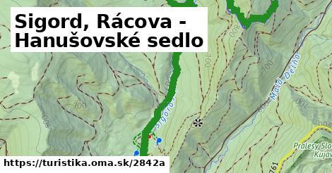 ilustračný obrázok k Sigord, Rácova - Hanušovské sedlo