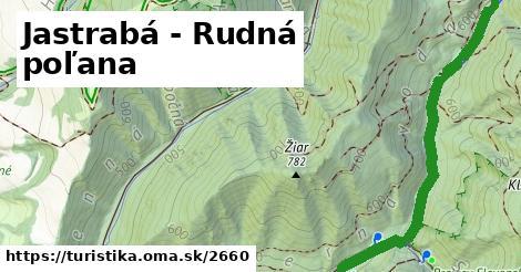ilustračný obrázok k Jastrabá - Rudná poľana