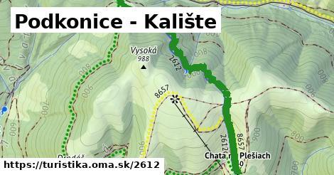 ilustračný obrázok k Podkonice - Kalište
