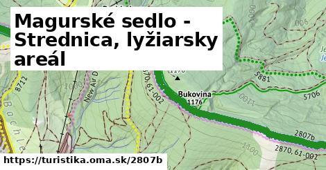 ilustračný obrázok k Magurské sedlo - Strednica, lyžiarsky areál