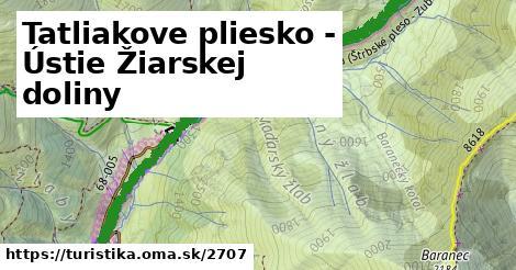 ilustračný obrázok k Tatliakove pliesko - Ústie Žiarskej doliny