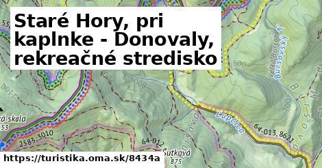 ilustračný obrázok k Staré Hory, pri kaplnke - Donovaly, rekreačné stredisko