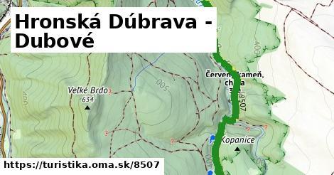 ilustračný obrázok k Hronská Dúbrava - Dubové