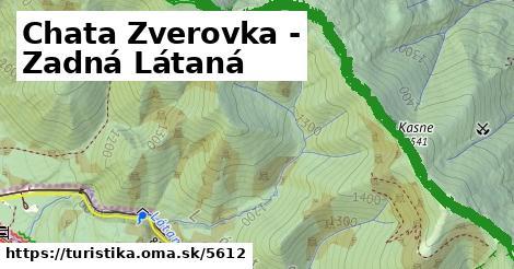 ilustračný obrázok k Chata Zverovka - Zadná Látaná
