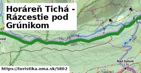 ilustračný obrázok k Horáreň Tichá - Rázcestie pod Grúnikom