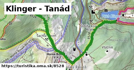 ilustračný obrázok k Klinger - Tanád