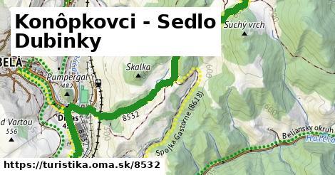 ilustračný obrázok k Konôpkovci - Sedlo Dubinky