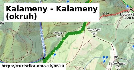 ilustračný obrázok k Kalameny - Kalameny (okruh)