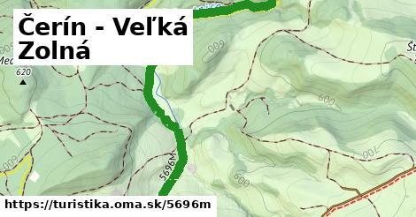 ilustračný obrázok k Čerín - Veľká Zolná
