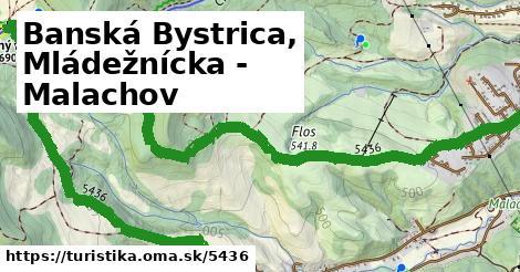 ilustračný obrázok k Banská Bystrica, Mládežnícka - Malachov