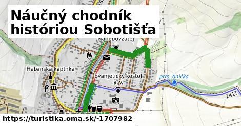 Náučný chodník históriou Sobotišťa