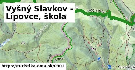 ilustračný obrázok k Vyšný Slavkov - Lipovce, škola