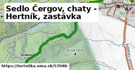 ilustračný obrázok k Sedlo Čergov, chaty - Hertník, zastávka
